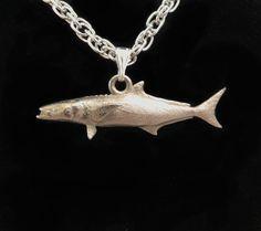 Cobia Fish Pendant