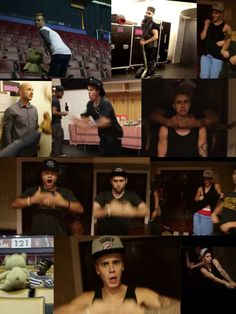 PUSH IT REAL GOOD! I absolutely love the Bieber crew!!! Wish I could be friends with them!