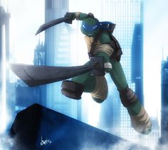 """""""My task is to get my brothers from where they are to where they have not been. I am the leader. I am Leonardo!"""""""