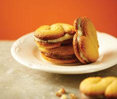 Lemon-Lime Polenta Sandwich Cookies from sauce magazine