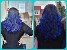 New hair # blue <3