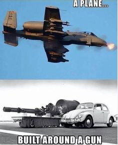 Military Jokes, Military Weapons, Military Aircraft, Fighter Aircraft, Fighter Jets, A10 Warthog, Photo Avion, Aviation Humor, Naval