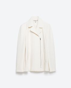 Image 8 of LAPEL COLLAR COAT from Zara