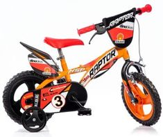 "Detský bicykel 12"" Dino 612L Raptor"