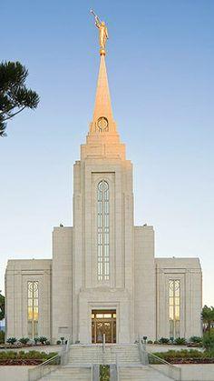 LDS Mormon Temple of Curitiba, Brazil