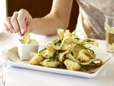 Zucchini Fritti at Macaroni Grill.   I may have to go to Mac Grill just to try this!