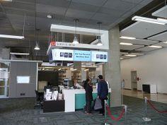 Calgary University Library Service Desk