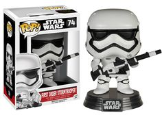 Star Wars Episode VII: The Force Awakens - First Order Stormtrooper with Rifle Pop! Vinyl Figure