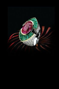 "From the ""Excellence"" collection ""Julietta"" ring by Fulvio Maria SCAVIA"