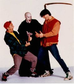 "photos of bill and ted's bogus journey | ... 100 Film Favorites – #89: ""Bill and Ted's Bogus Journey"