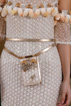 Details from Chanel Haute Couture Spring 2016. Paris Fashion Week.