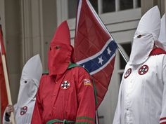 Confederates A KKK rally in Charlottesville, Virginia, turned violent on Saturday after nearly 1,000 protesters clashed with the KKK members.