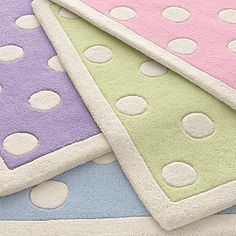 pastel rugs - I'll take one of each color please