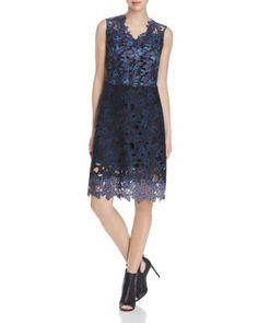 Elie Tahari Savon Floral Lace Dress | Bloomingdale's