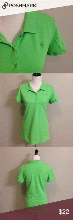 Lilly Pulitzer polo shirt Lilly Pulitzer polo shirt. Excellent used condition. Just needs to be ironed Lilly Pulitzer Tops