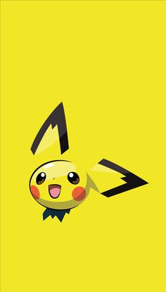 ◾Pichu ◾Type - ━━━━━━━━━━━━━━━━ When Pichu plays with others, it may short out electricity with another Pichu, creating a shower of sparks. In that event, this Pokémon will begin crying, startled by the flash of sparks. Cute Pokemon Wallpaper, Cute Cartoon Wallpapers, Wallpaper Iphone Cute, Pichu Pokemon, All Pokemon, Pokemon Go Images, Pokemon Pictures, Pokemon Lock Screen, Wallpaper Cars