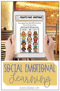 Teaching students to manage their emotions is so important, especially in these stressful times.  Check out this blog post and be sure to get the free morning check in. Teaching First Grade, First Grade Classroom, Student Teaching, Social Emotional Learning, Social Skills, Class Meetings, Classroom Routines, Calendar Time, Different Feelings