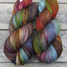 Keeping Up - Yowza - Babette - Hand dyed yarn