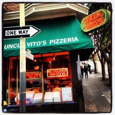 Found this place late at night after a concert at San Francisco State with my brother years ago. The most awesome pizza I've ever ate!!