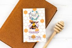 Ernie the Bee bumblebee Enamel Pin set by RosebudCasson on Etsy