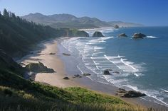 The Oregon Coast.