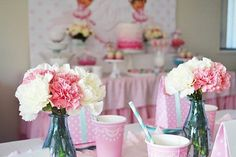 Kara's Party Ideas Dora Explorer Ballerina Girl Pink Birthday Party Planning Ideas