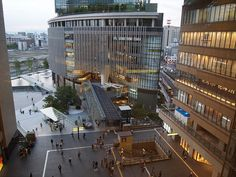 Grand Front Osaka from Osaka Station, Shops: typically 10:00 to 21:00  Restaurants: typically 11:00 to 23:00