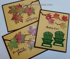 use glossy paper to create leaves