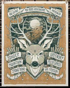 GigPosters.com - Yonder Mountain String Band - Greensky Bluegrass - Fruition