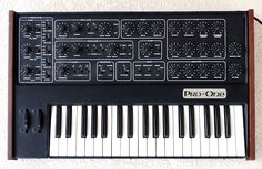 Sequential Circuits Pro One Keyboard Synthesizer for sale online Recording Equipment, Home Studio Music, Studio Gear, Drum Machine, Vintage Keys, Circuits, Electronic Music, Keyboard