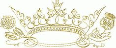 queen crown tattoo inspiration. delicate