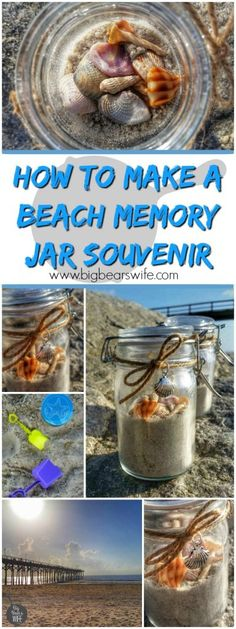 How to make a Beach Memory Jar