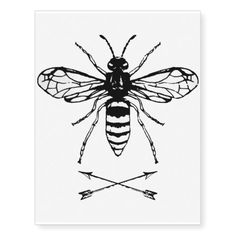 Save the bees temporary tattoos - tap/click to show you care!