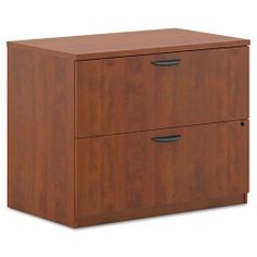 basyx® - BL Laminate Two-Drawer Lateral File, 35-3/4w x 22d x 29h, Medium Cherry - Sold As 1 Each - Thick top is dent- and stain-resistant. by basyx Products. $278.99. basyx® - BL Laminate Two-Drawer Lateral File, 35-3/4w x 22d x 29h, Medium CherryThick top is dent- and stain-resistant. Full-extension file drawer accommodate letter/legal filing. Lock keeps contents safe. Straight edge design provides a clean look. Use freestanding or remove top for use under cred...