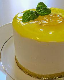La cucina di Anisja: Panna cotta al profumo di basilico e limone
