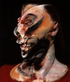Francis Bacon. Muriel Belcher portrait