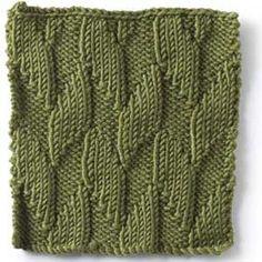 Stitch Gallery - Alternating Diagonals | Yarn | Free Knitting Patterns | Crochet Patterns | Yarnspirations