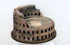 colosseum cake by Susanna's Cakes, via Flickr