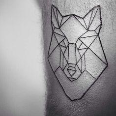BY MELINA.  FOR APPOINTMENTS VISIT OUR WEBSITE. [ L I N K  I N  P R O F I L E ]  #tattoo #ink #art #tattooing #tattoos #inked #inkedboy #boy #inkedleg #tattoodesign #tattoolove #tattoolookbook #tattoosofinstagram #tattooboy #tattoostudio #tattoostudiohamburg #hamburg #vadersdye #tattooart #tattoohamburg #hamburgtattoo #vegantattoo #veganink #black #lines #blacktattoo #wolftattoo #wolfheadtattoo #geometrictattoo #blackwork