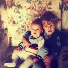 A Throwback Thursday of Joel and Luke Smallbone, they're so precious!!!