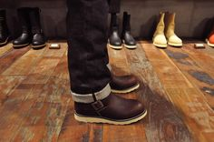 Red Wing Engineer style #2970 in Briar Oil Slick Leather