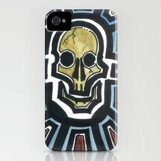 Sovereign Skull  by Sean Martorana    IPHONE CASE / IPHONE (4S, 4)  $35.00