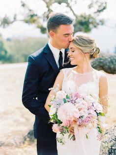 Rustic ranch wedding: http://www.stylemepretty.com/2016/11/28/michaela-noelle-designs-wedding/ Photography: Danielle Poff - http://www.daniellepoff.com/