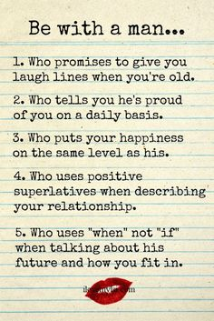 Be With A Man Who... love love quotes quotes couples quote couple in love love…