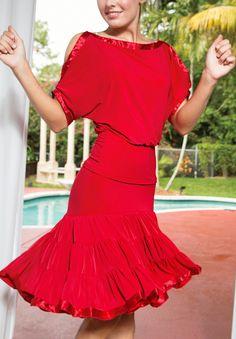Dance Outfits, Dance Dresses, Red Spice, Dress Ideas, Cold Shoulder Dress, Short Sleeve Dresses, Ballet, Costumes, Kitchen