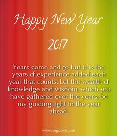 Happy New Year 2018 Quotes : Happy New Year 2017 Images