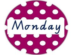 Days of the Week Colourful Spotted Circles Theme - Two creative teachers