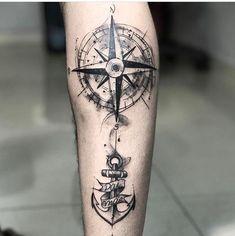 Idea for tattoo on forearm - Jean Francois Cateigne - # arm . - Idea for tattoo on forearm – Jean Francois Cateigne – # poor … – tattoo – - Tattoos Bein, Forarm Tattoos, Map Tattoos, Forearm Sleeve Tattoos, Arrow Tattoos, Body Art Tattoos, Tribal Tattoos, Tatoos, Compass Rose Tattoo