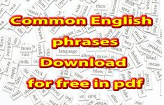 15000 common and not so common phrases in English free to download