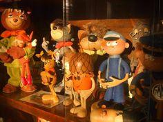 Foky Ottó: Bábfigurák Retro 1, Puppets, Films, Table Lamp, Animation, Photos, Painting, Home Decor, Art